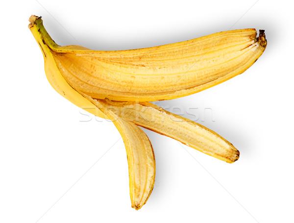 Banana skin deployed horizontally Stock photo © Cipariss