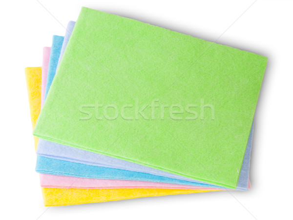 Multicolored Cleaning Cloths Stock photo © Cipariss