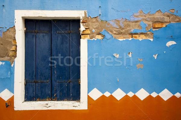 Colorful grunge wall Stock photo © cla78