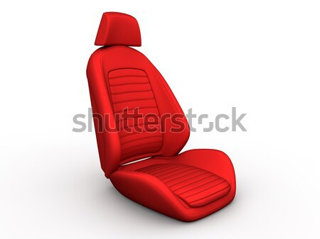 Red car seat Stock photo © cla78