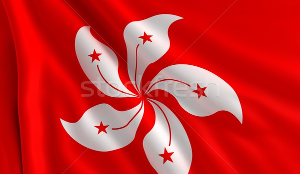Flag of Hong Kong Stock photo © cla78