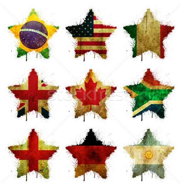 Colored stars Stock photo © cla78