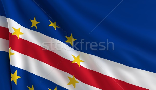Flag of Cape Verde Stock photo © cla78