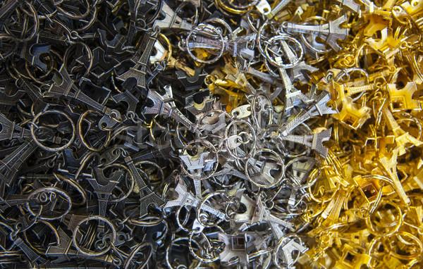 Many key-rings of Paris Stock photo © cla78