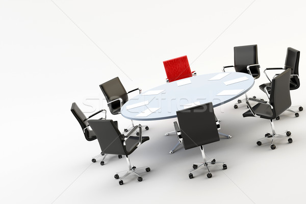 Chairs and office table Stock photo © cla78