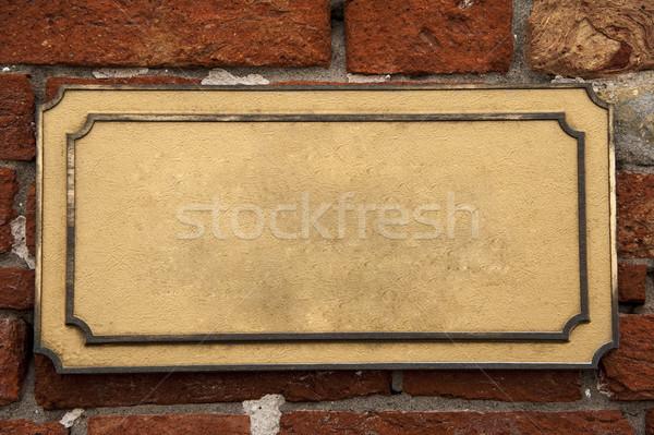 Marble plaque Stock photo © cla78