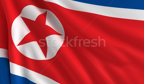 Flag of North Korea Stock photo © cla78
