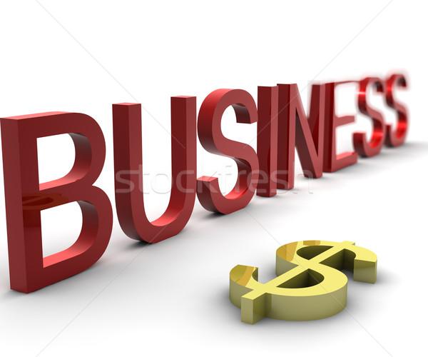 Business dollaro abstract sfondo finanziare Foto d'archivio © cla78