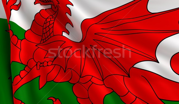 Flag of Wales Stock photo © cla78