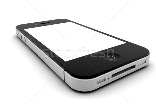 телефон мобильного телефона экране копия пространства интернет телефон Сток-фото © cla78