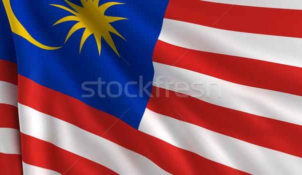 Flag of Malaysia Stock photo © cla78