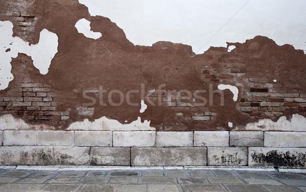 Room with brick wall Stock photo © cla78