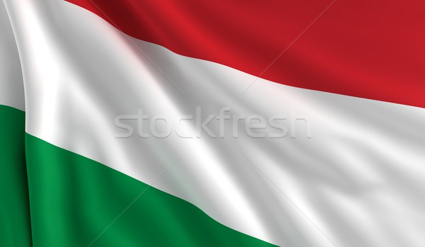Flag of Hungary Stock photo © cla78
