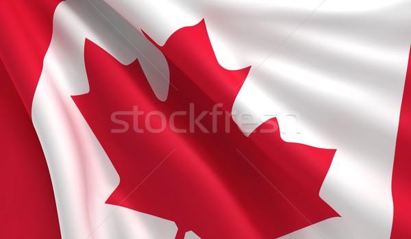Flag of Canada Stock photo © cla78