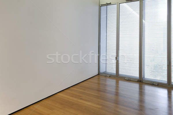 пустой комнате окна стены бизнеса дома здании Сток-фото © cla78