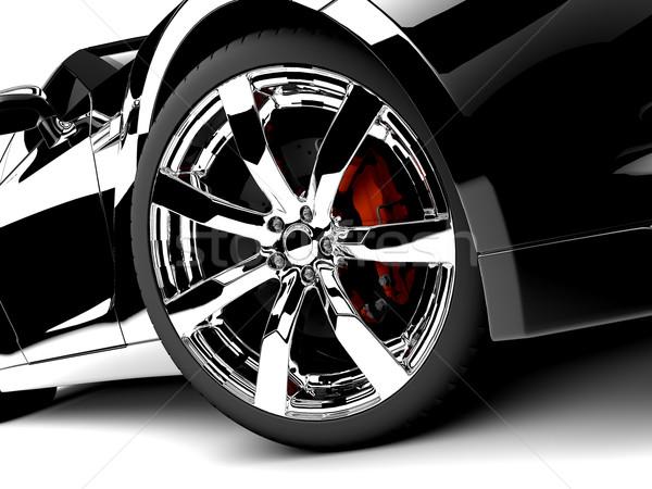 Black car Stock photo © cla78