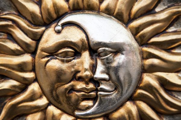Sun and moon Stock photo © cla78