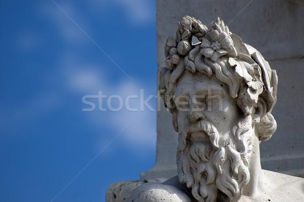 Statue head Stock photo © cla78