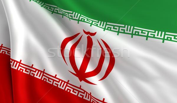 Flag of Iran Stock photo © cla78