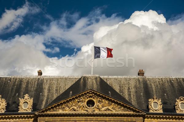 Flag on top Stock photo © cla78