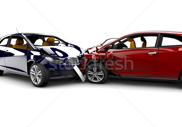 Accident with two cars Stock photo © cla78