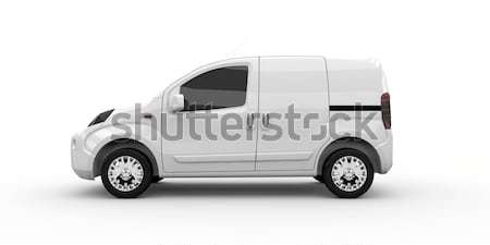 Commercial van Stock photo © cla78