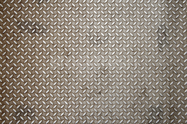 Stock photo: Diamond plate texture