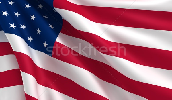 Flag of USA Stock photo © cla78