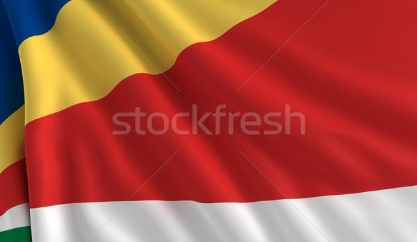 Flag of Seychelles Stock photo © cla78