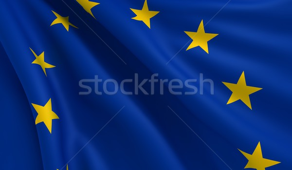 Flag of Europe Stock photo © cla78