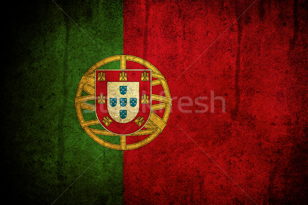 Flag of Portugal Stock photo © cla78