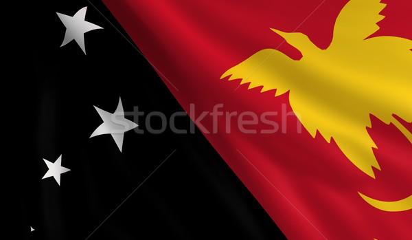 Flag of Papua New Guinea Stock photo © cla78