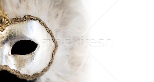 ベネチアンマスク カラフル 多くの 細部 女性 パーティ ストックフォト © cla78