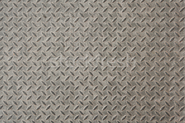 Stock photo: Diamond plate texture