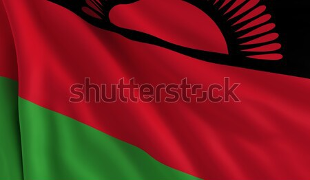 Flag of Malawi Stock photo © cla78
