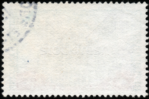 белый горизонтальный штампа почтовая марка изолированный черный Сток-фото © cla78