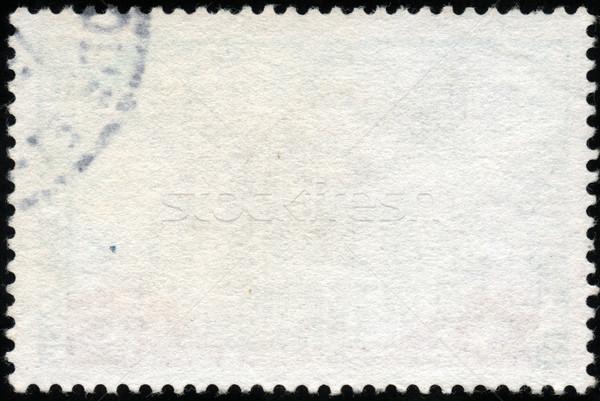 White horizontal stamp Stock photo © cla78