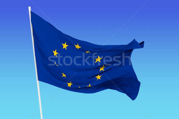 Flag of European Community Stock photo © cla78