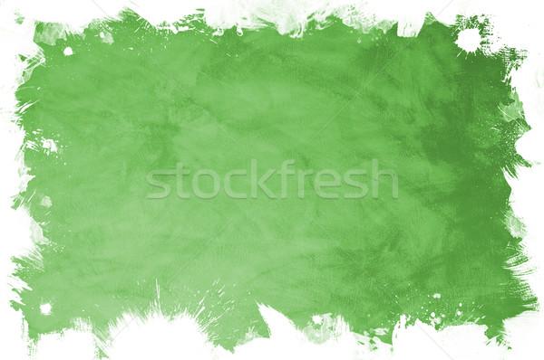 Zöld textúra grunge textúra szöveg kép papír Stock fotó © cla78