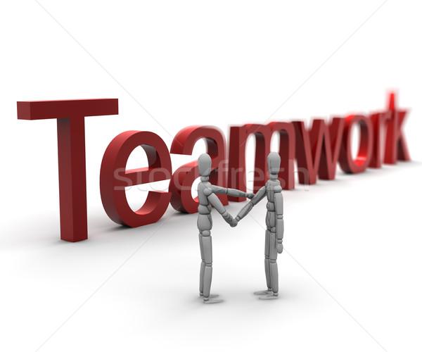 Teamwork Stock photo © cla78