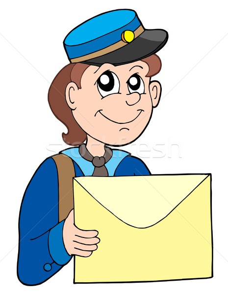 Postman with letter Stock photo © clairev