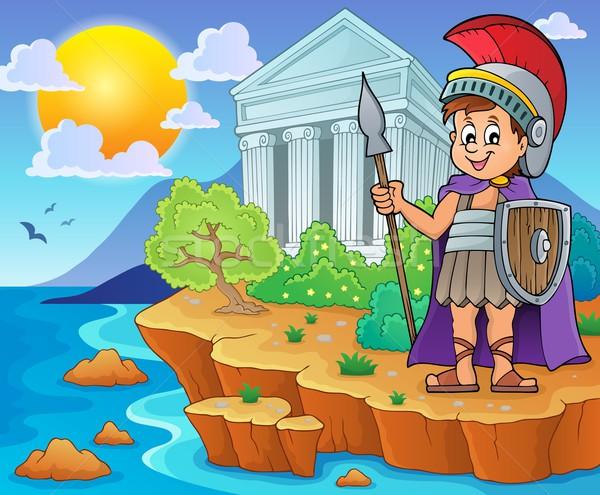 Roman soldier theme image 2 Stock photo © clairev