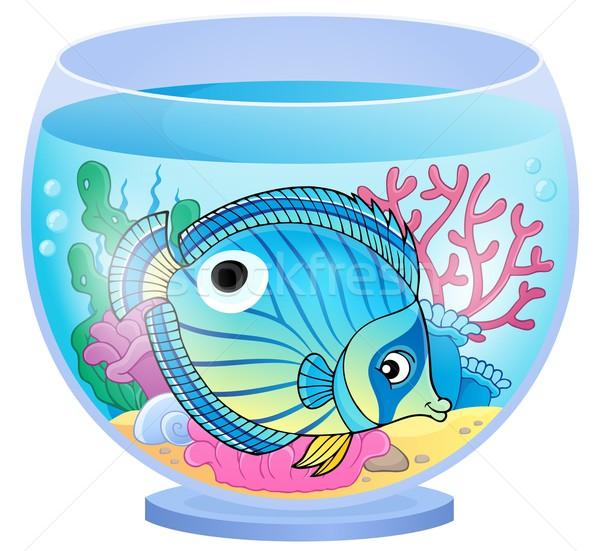 水族館 トピック 画像 魚 工場 水中 ストックフォト © clairev
