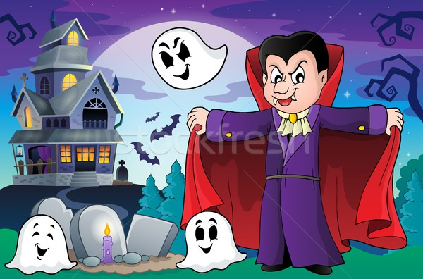 Vampire theme image 9 Stock photo © clairev