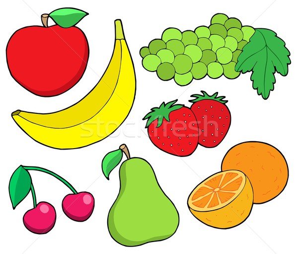 Fruit collection 1 Stock photo © clairev