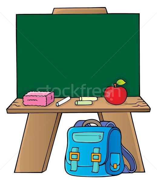 Schoolboard topic image 1 Stock photo © clairev
