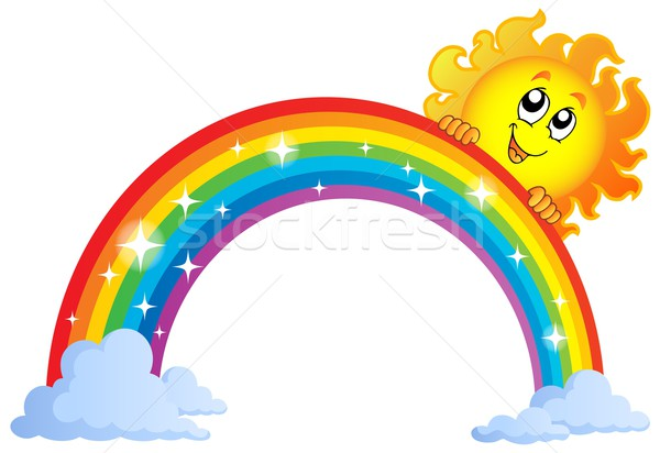 Image with rainbow theme 9 Stock photo © clairev