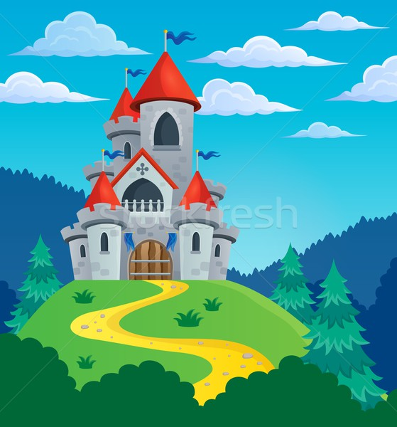 Fairy tale castle theme image 3 Stock photo © clairev