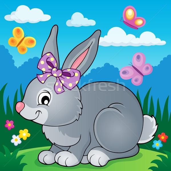 Rabbit topic image 4 Stock photo © clairev