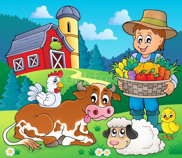 Farmer topic image 6 Stock photo © clairev